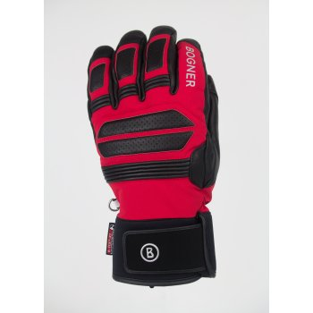 Bogner Adone Mens Ski Glove in Red
