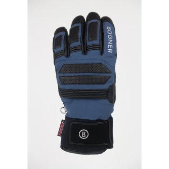 Bogner Adone Mens Ski Glove in Smokey Blue