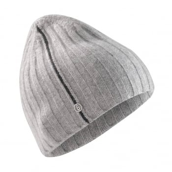 Bogner Denny Mens Designer Ski Hat in Grey