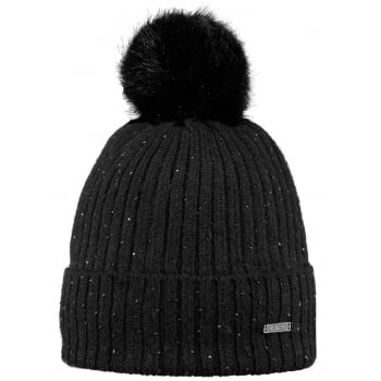 Barts Splendor Beanie Ski Hat in Black