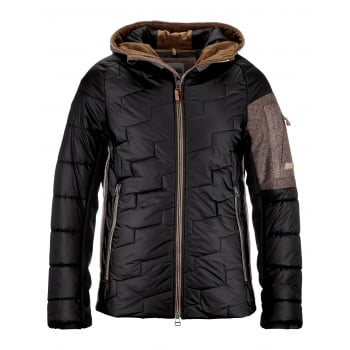 Luis Trenker Jack Mens Ski Jacket in Black