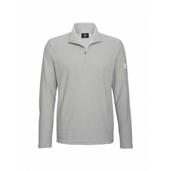 Bogner Udo Mens Fleece Midlayer in Light Grey