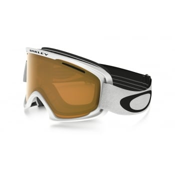 Oakley O2 XM Matte White With Persimmon Lens