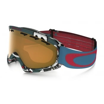 Oakley O2 XS Shady Trees Blue Red frame with Persimmon Lens