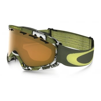 Oakley O2 XS Shady Trees Army Green with Persimmon Lens