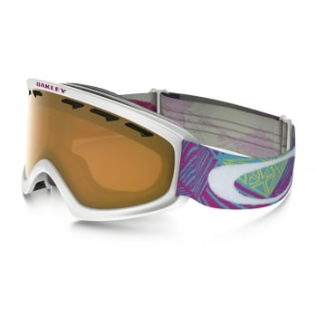 Oakley O2 XS Geo Chaos Neon Pink with Persimmon Lens