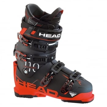 Head Ski Head Challenger 110 Mens Ski Boot in Black and Red
