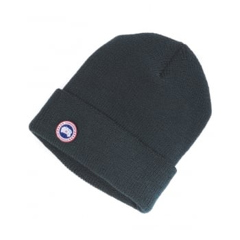 Canada Goose Merino Wool Watch Cap in Ink Blue 8fab008f6343