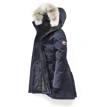 Canada Goose Ladies Rossclair Parka in Navy
