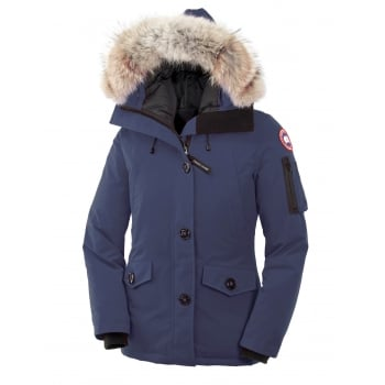 Canada Goose Ladies Montebello Parka in Ink Blue