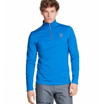 Bogner Berto Mens First Layer Top in Royal Blue