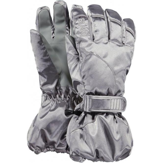 Barts Kids Tec Ski Glove in Silver  b5f33d6fc8e6