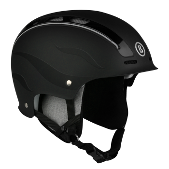 Bogner Ski Helmet Freeride Flames in Black