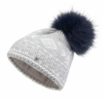 Bogner Carrie Knit Womens Ski Hat in Grey