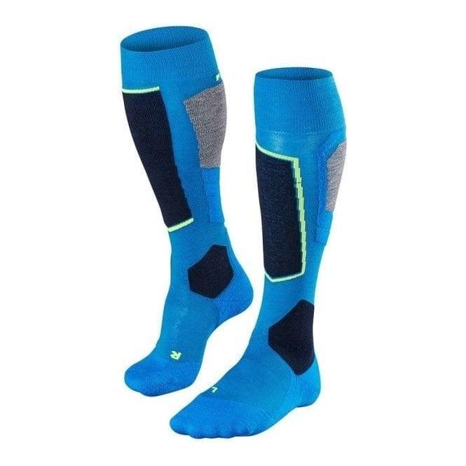 FALKE SK2 Mens Ski Socks in Kingfisher