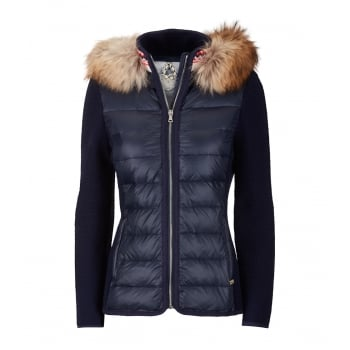 Luis Trenker Ruja Womens Jacket in Blue