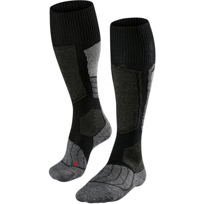 FALKE SK1 Womens Ski Socks in Black