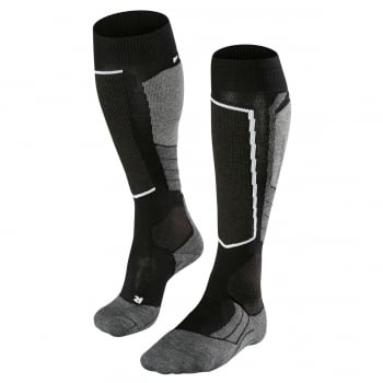 Falke SK2 Womens Ski Socks in Black