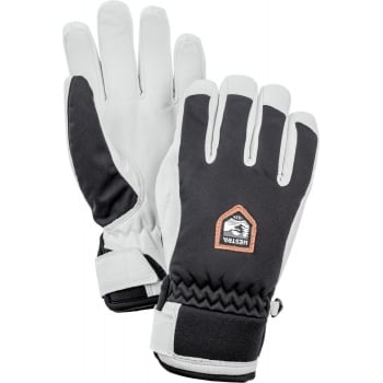 Hestra Ski Gloves Hestra Womens Moje Czone Ski Gloves in Black