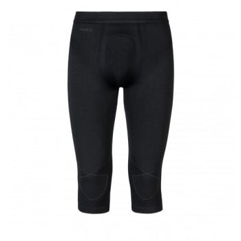Odlo Evolution Warm 3/4 Pant Mens Baselayer in Graphite Grey