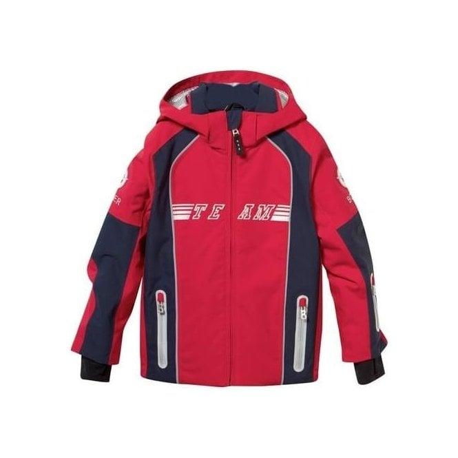 4aa0229222 Bogner Dean Boys Ski Jacket in Red