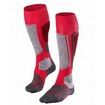 Falke SK1 Womens Ski Socks in Rose