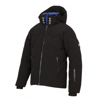 Descente Hex Mens Ski Jacket in Black
