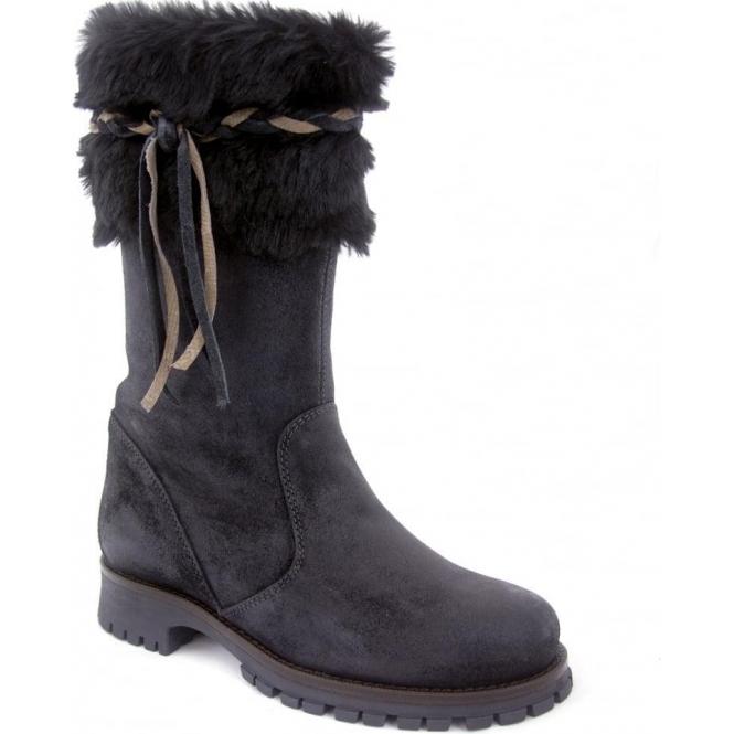 LA THUILE BOOTS La Thuile Orlando Womens Winter Boot in Black