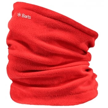 Barts Fleece Col Ski Neck Warmer in Red