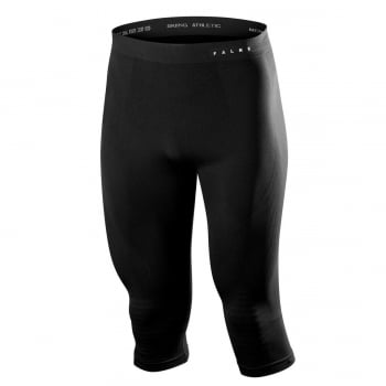 Falke Mens Maximum Warm 3/4 Pants Tight Fit in Black