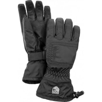 Hestra Ski Gloves Hestra Czone Powder Female Ski Glove in Black