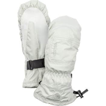 Hestra Ski Gloves Hestra Czone Powder Female Ski Mitt in Off White