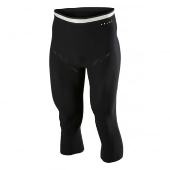 Falke Mens 3/4 Tight Air Insulation in Black