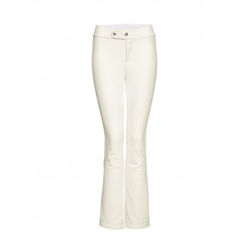 Bogner Emilia Long Leg Fitted Ski Pant in Off White