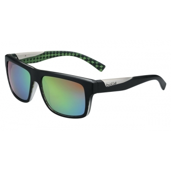 Bolle Clint Matte Black Lime with Polarized Brown Emerald Lens