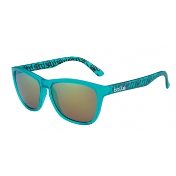 Bolle 473 Matte Turquoise with Polarized Brown Emerald Lens