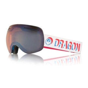 Dragon Alliance Dragon X1 Ski Goggle in Verge with LumaLens Blue Flash Ion and Dark Smoke