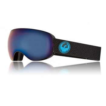 Dragon Alliance Dragon X2s Ski Goggle in Split with LumaLens Blue Ion and LL Amber