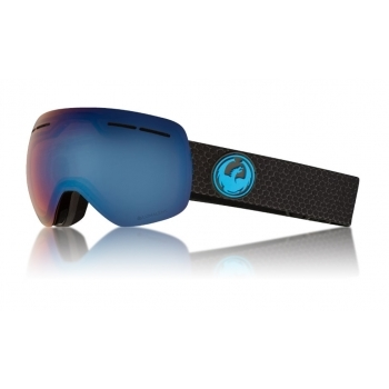 Dragon X1s Ski Goggle in Split with Lumalens Blue Ion and LL Amber