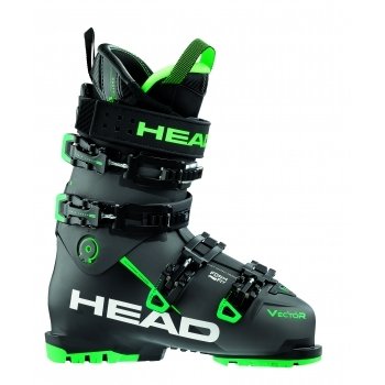 Head Ski Head Vector Evo 120s Mens Ski Boot in Black and Green