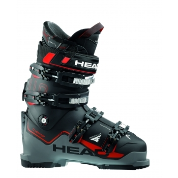 Head Ski Head Challenger 110 Mens Ski Boot in Black and Anthrcite Red