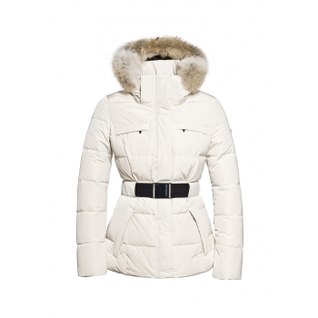 Goldbergh Jules Faux Fur Womens Ski Jacket in Kit