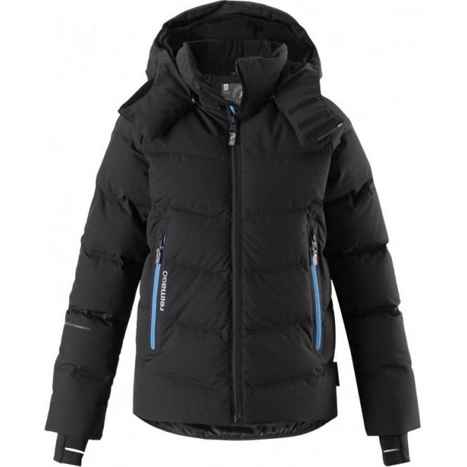 1d64b49eb9f6 Reima Wakeup Boys Down Ski Jacket in Black