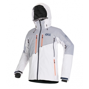 Picture Picture Goods Mens Ski Jacket in White