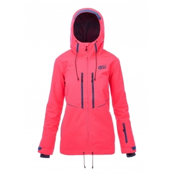 Picture Picture Exa Womens Ski Jacket in Neon Coral