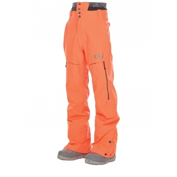 Picture Object Mens Ski Pant in Orange