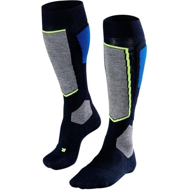 FALKE SK4 Mens Ski Socks in Space Blue