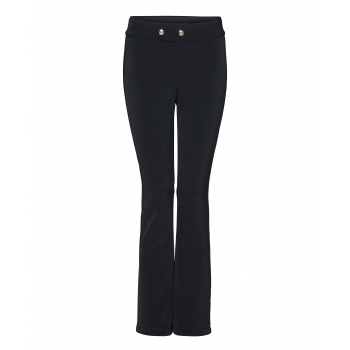 Bogner Emilia Fitted Ski Pant With Gold Detail in Black