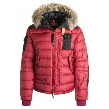 e13c045a82 Parajumpers Skimaster Mens Ski Jacket in Dark Red