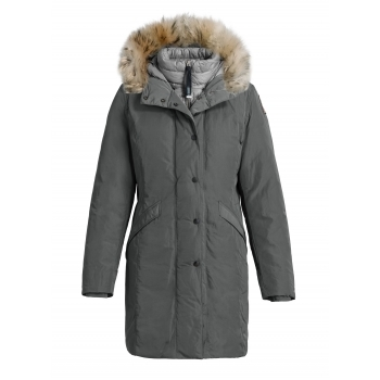 Parajumpers Angie Womens Down Winter Coat in Deep Grey